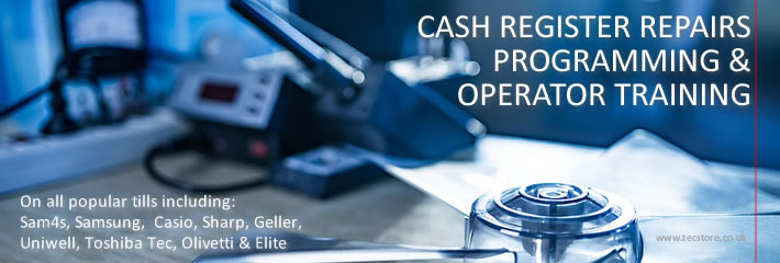 Cash Register Repairs & Till Programming